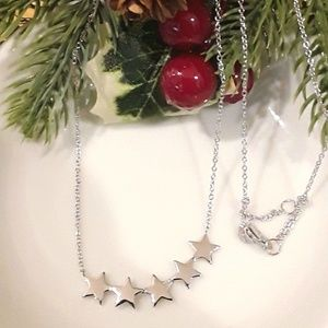 NEW S925  Star Necklace